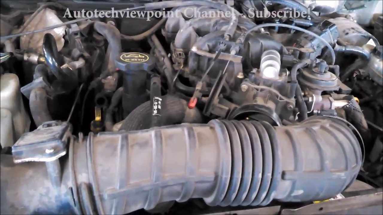 Spark plug replacement Ford Explorer 40L 2001 TIPS