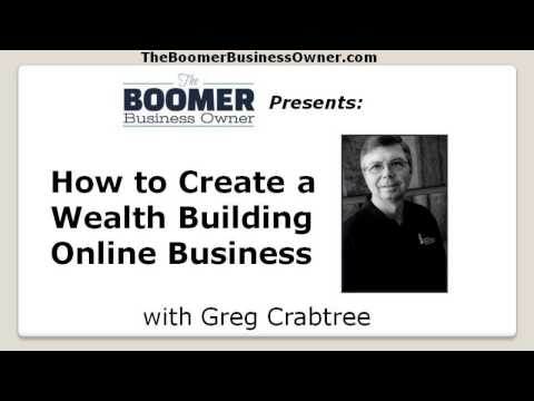 Entrepreneur - How To Create a Wealth Building Online Business (video)