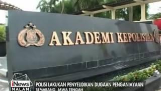 Seorang Taruna Akpol Tingkat II Di Semarang Meninggal Dunia - INews Malam 18/05