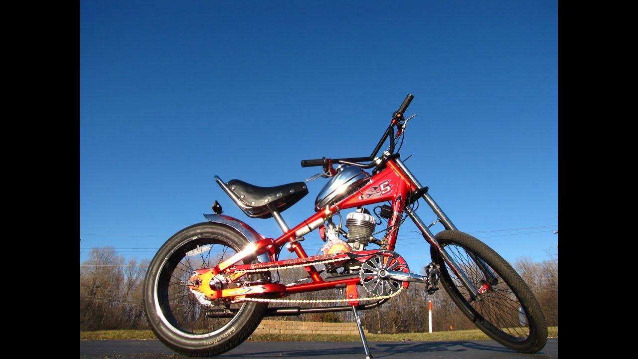 Kawasaki Motorized Bicycle