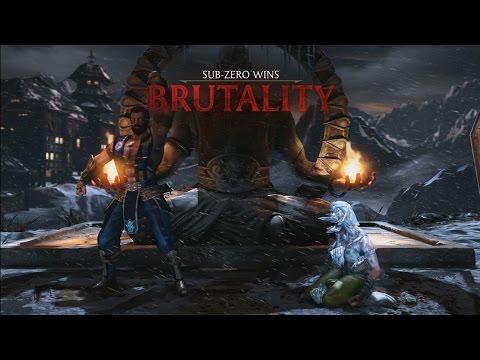 Mortal Kombat X: Sub-Zero - Splitting Image Brutality