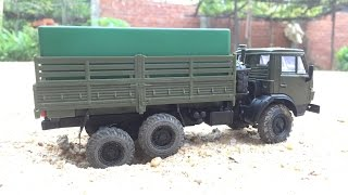 handmade rc kamaz 4310 model 1 43 scale drive action