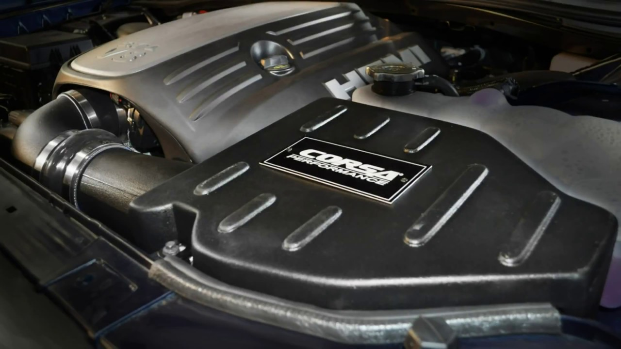 6fce3e676fc 2011-2017 Dodge Challenger R T Performance Cold Air Intake System Kit Corsa  462576 Installation
