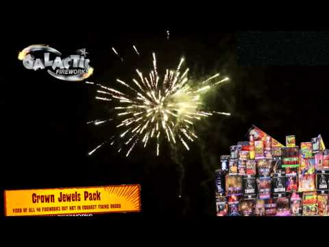 Crown Jewels Display Pack from Galactic Fireworks