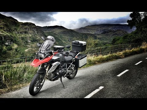 Tour of Wales by BMW R1200GS - Ep 3: Capel Curig to Machynlleth