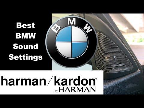 BMW Harman Kardon Radio: Best Sound Settings