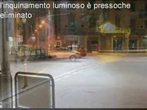 LED lamps per l'illuminazione Pubblica in Italia - LED Street Lights in Italy