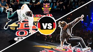B-Girl Frost vs. B-Girl Loopi | Red Bull BC One Cypher Germany 2019