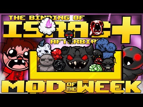 The Binding of Isaac: Afterbirth+ - Mod of the Week: ROCKET LAUNCHER! (BEAUTIFUL NEW SPRITES TOO)