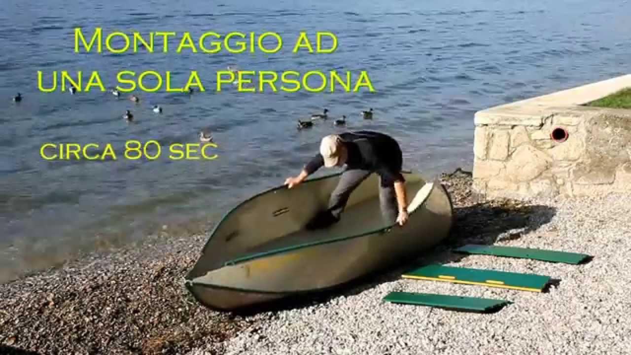 Barca Pieghevole Alluminio.Montaggio Moraposa Barca Pieghevole Folding Boat 80 Secondi