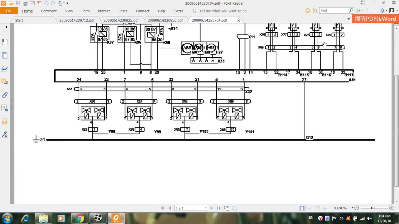 Volvo Fh 12  D12a 380  Wiring Diagrams