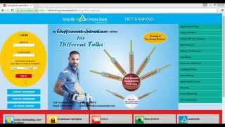 vuclip How to login first time Canara Bank Net Banking