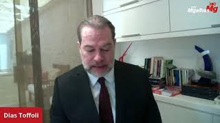 """""""Não há um ativismo do Judiciário"""", afirma ministro Dias Toffoli"""