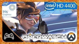 Overwatch Teste Na Intel HD Graphics 4400 #168