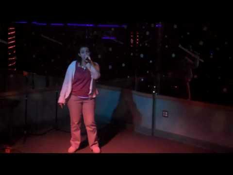 "Lizard Lounge Long Island Karaoke Lisa E.  ""What do u say"""