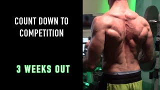 BODY BEAST | COMPETITION PREP - 3 WEEKS OUT