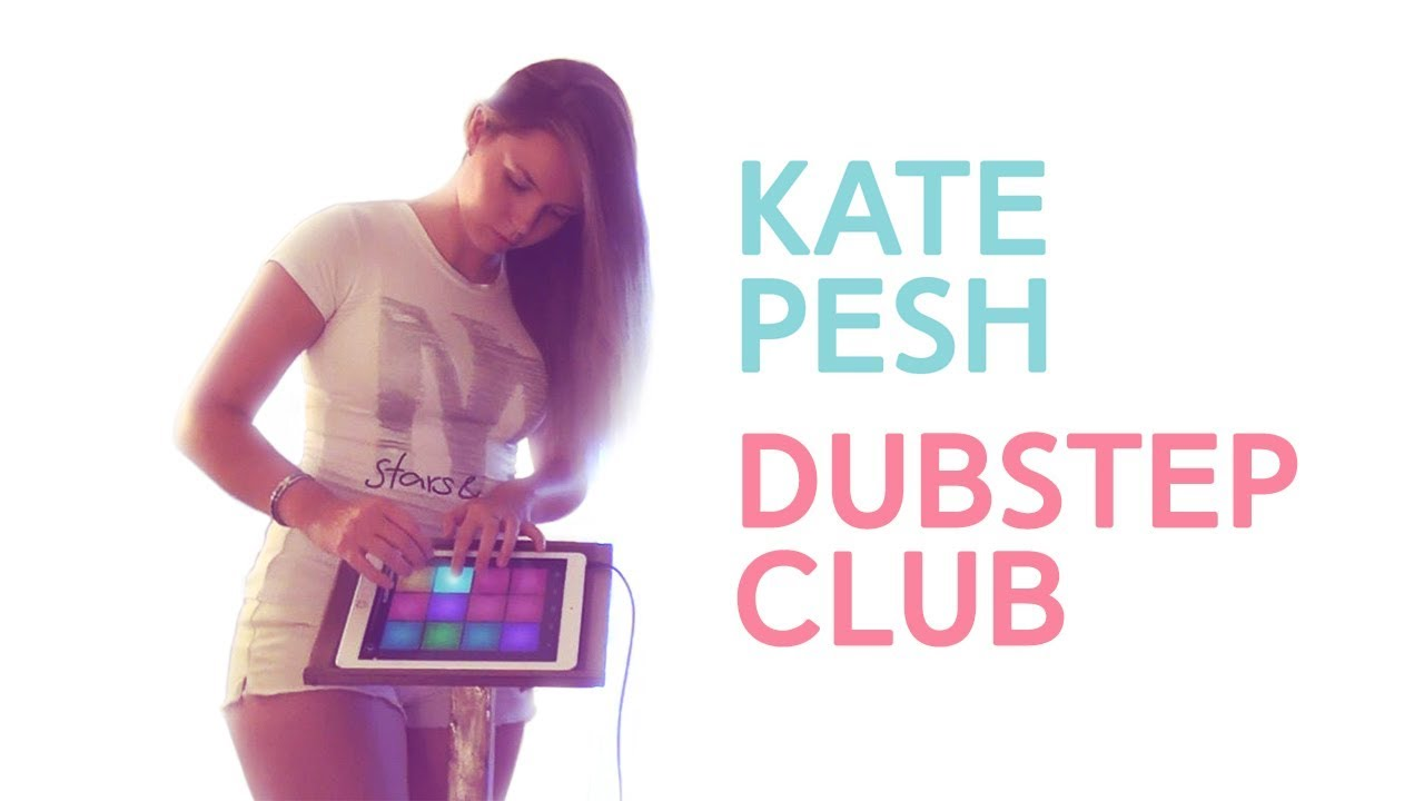 kate pesh dubstep club drum pad machine youtube. Black Bedroom Furniture Sets. Home Design Ideas