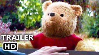 CHRISTOPHER ROBIN Trailer (2018) Winnie-the-Pooh, Animation, Adventure Movie