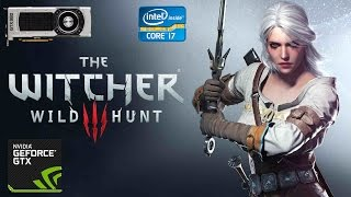 The Witcher 3 Ciri Gameplay - GTX 980 - Intel i7 3770 - 1920x1200 - 60 FPS
