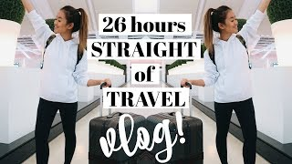 26 HRS OF TRAVEL + PLANE ESSENTIALS | Asia Vlog #1