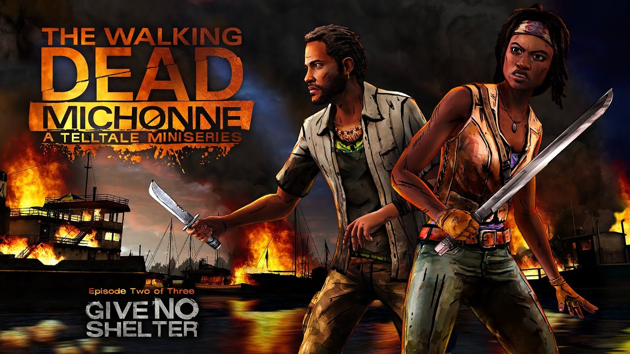 The Walking Dead Michonne Episode 2 Trailer Give No Shelter 1080p Hd