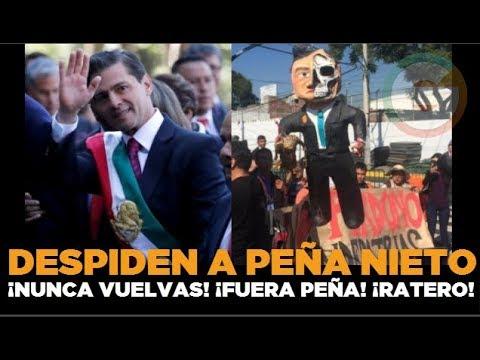 Despiden a Peña Nieto con rechiflas y  mentadas
