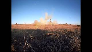 40 pounds of homemade tannerite in a jeep cherokee