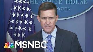 Cracks Deepen In White House Michael Flynn Story With New Senate Testimony | Rachel Maddow | MSNBC