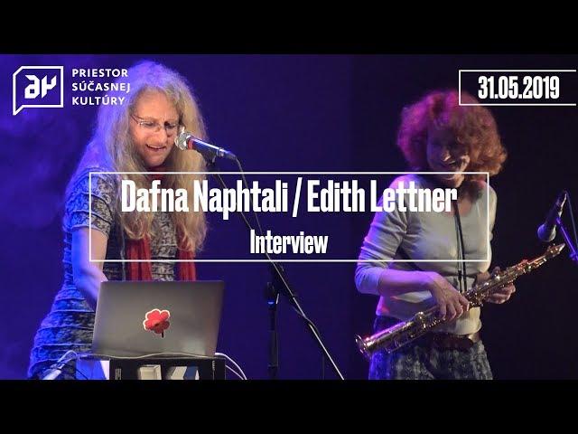 Dafna Naphtali / Edith Lettner