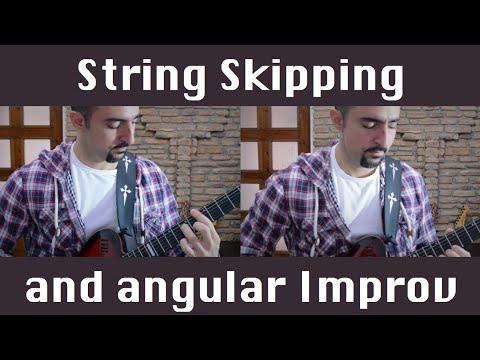 String Skipping And Angular Improvisation