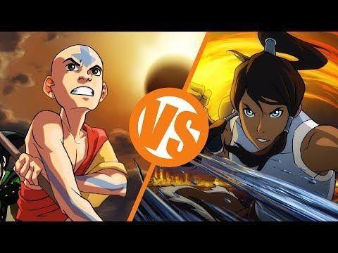Avatar: The Last Airbender VS The Legend of Korra : TV Feuds
