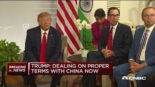 Beijing denies Trump
