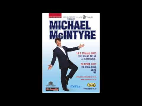 Michael McIntyre Live in Cape Town - Radio Spot