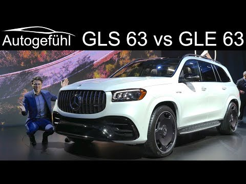 Mercedes GLE 63 S AMG vs Mercedes GLS 63 AMG comparison REVIEW - Autogefühl