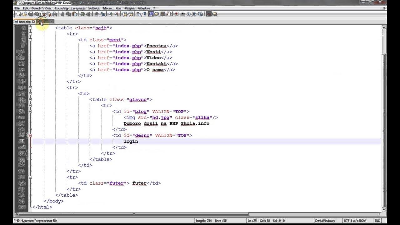 HTML Tutorial Padding Margin And Align