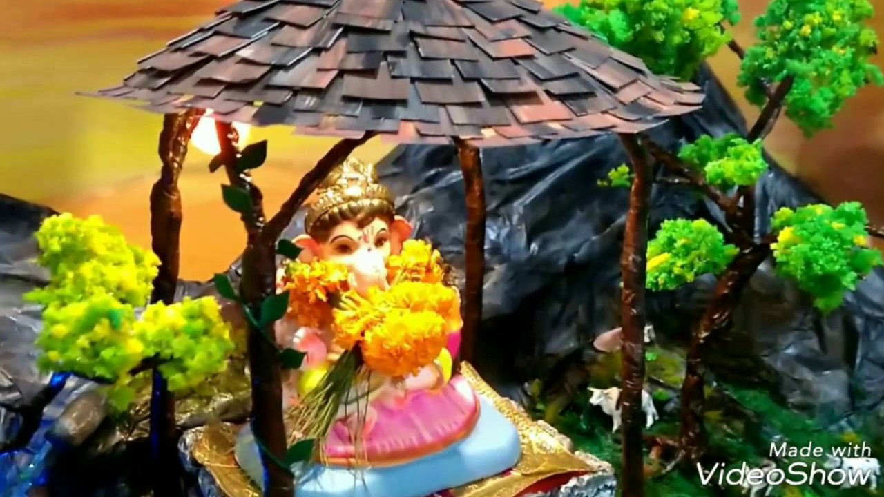 eco friendly ganpati decorations home decorations for ganpati