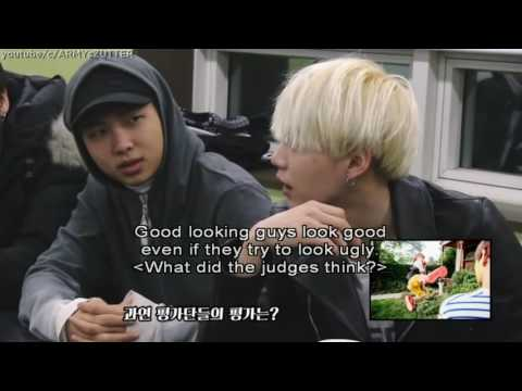 ENG SUB NAMJIN Picks A Fight   V Comforts JUNGKOOK   BTS Reacts To Their Photoshoots