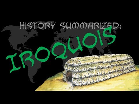 History Summarized: Iroquois Native Americans
