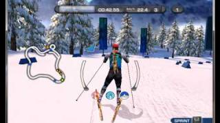 Ski and Shoot on PCSX2 0.9.7 - Playstation 2 Emulator