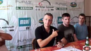 PK Patrick White/Ryan Guentzel und Hauptsponsor Ebersberger Autostadt/Grill Gruppe