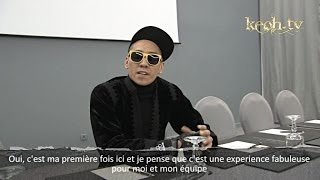 Taboo (Black Eyed Peas) in Marrakesh - Interview and DJ Show (1)
