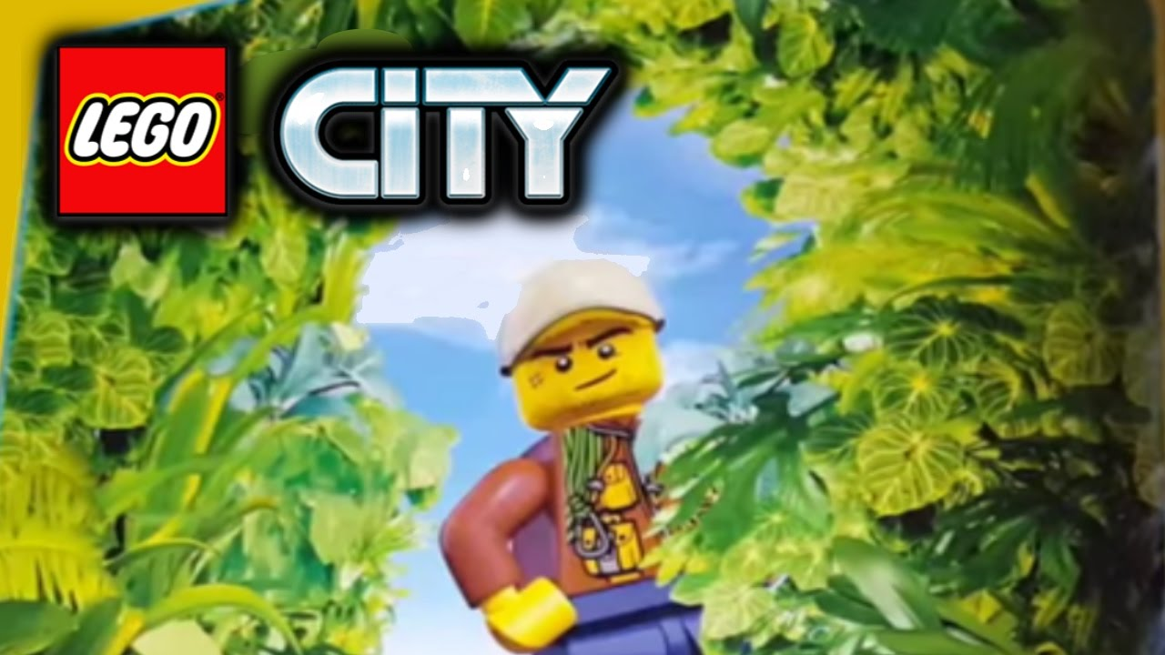 LEGO City Jungle theme coming in Summer 2017! - YouTube