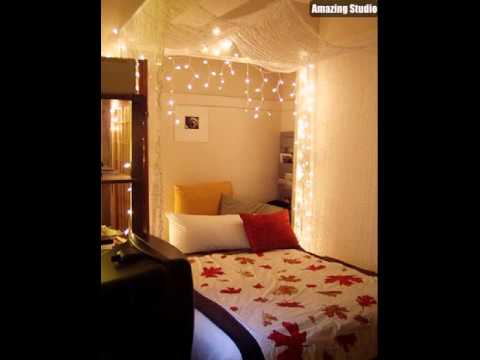 Cool Bedroom Ideas With Christmas Lights YouTube - Cool christmas light ideas for bedrooms