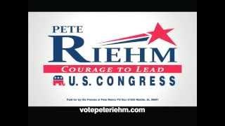 Pete Riehm for Congress - AL US House of Representatives District 1 - Common Sense - 15 sec.