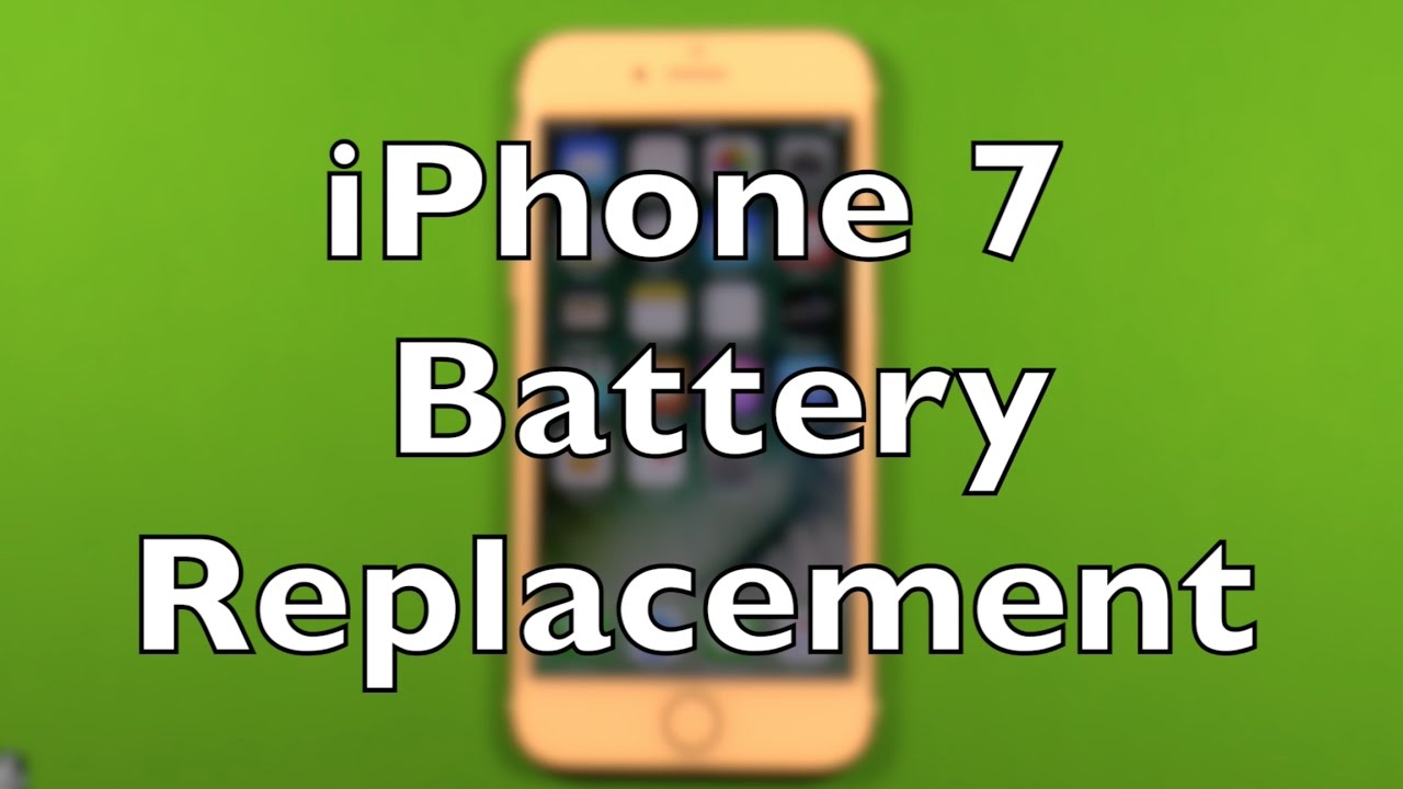 How To Change Iphone  Battery Replacement