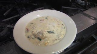 Chicken pablano corn chowder  chicken recipe  soup recipe