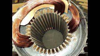 Как разобрать двигатель на медь