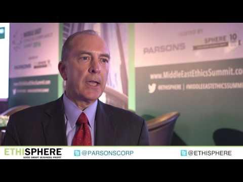 Parsons Corporation Chairman and CEO Chuck Harrington on Anti-Corruption