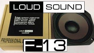 Обзор фиолеток Loud Sound F13