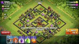 Clash Of Clans-COC bug 2016 - train 27 valks using 1 gem,no need of dark elixir